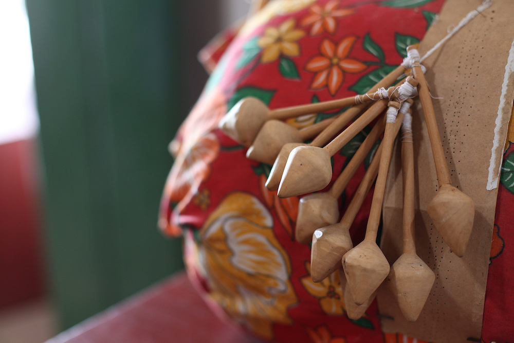 Caninde do Sao Francisco_SE, Brasil.<br /> <br /> Imagens do vale do rio Sao Francisco em Caninde do Sao Francisco, Sergipe. Na foto renda de bilro.<br /> <br /> Images of the Sao Francisco river valley in Caninde do Sao Francisco, Sergipe. In this photo crafts.<br /> <br /> Foto: JOAO MARCOS ROSA / NITRO
