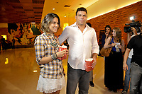 20120207: SAO PAULO, BRAZIL - Former Brazilian football star Ronaldo Nazario and wife Bia Antony attend Reis e Ratos (Kings & Rats) premiere at SP.<br />