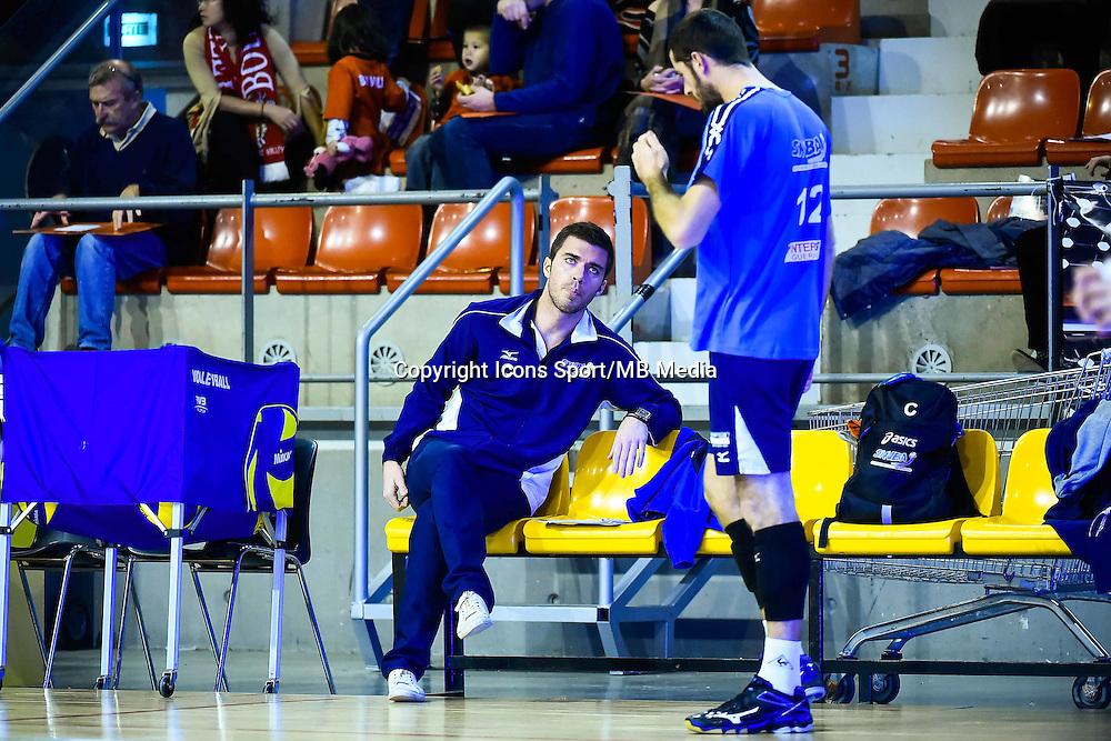 Gilles GOSSELIN / Robin TOSATTO  - 19.12.2014 - Beauvais / Saint Nazaire - 12e journee de Ligue A<br />Photo : Fred Porcu / Icon Sport