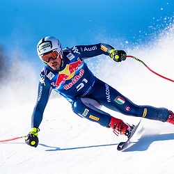 Peter Fill of Italy at the Ski Alpin: 80. Hahnenkamm Race 2020 - Audi FIS Alpine Ski World Cup - Men's Downhill Training at the Streif on January 22, 2020 in Kitzbuehel, AUSTRIA. (Photo by Horst Ettensberger/ESPA/CSM/Sipa USA) - Kitzbuhel (Autriche)