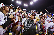 during Nebraska's NCAA Championship match vs. Texas at CenturyLink Arena in Omaha, Neb. on Dec. 19, 2015. Photo by Aaron Babcock, Hail Varsity