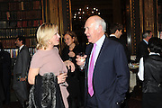 CLAUDIA WALKER; MICHAEL COCKERELL, Celebration of the  200TH Anniversary of the  Birth of Rt.Hon. John Bright MP  and the publication of <br /> ÔJohn Bright: Statesman, Orator, AgitatorÕ by Bill Cash MP. Reform Club. London. 14 November 2011. <br /> <br />  , -DO NOT ARCHIVE-© Copyright Photograph by Dafydd Jones. 248 Clapham Rd. London SW9 0PZ. Tel 0207 820 0771. www.dafjones.com.<br /> CLAUDIA WALKER; MICHAEL COCKERELL, Celebration of the  200TH Anniversary of the  Birth of Rt.Hon. John Bright MP  and the publication of <br /> 'John Bright: Statesman, Orator, Agitator' by Bill Cash MP. Reform Club. London. 14 November 2011. <br /> <br />  , -DO NOT ARCHIVE-© Copyright Photograph by Dafydd Jones. 248 Clapham Rd. London SW9 0PZ. Tel 0207 820 0771. www.dafjones.com.