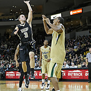 Central Florida guard A.J. Rompza (3) during the NCAA basketball game against the USF Bulls at the UCF Arena on November 18, 2010 in Orlando, Florida. UCF won the game 65-59. (AP Photo/Alex Menendez)