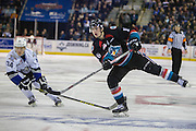 KELOWNA, CANADA - OCTOBER 26:  Kole Lind #16 of the Kelowna Rockets shoots the puck at the Kelowna Rockets game on October 26, 2016 at Prospera Place in Kelowna, British Columbia, Canada.  (Photo By Cindy Rogers/Nyasa Photography,  *** Local Caption ***