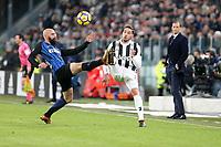 09.12.2017 - Torino - Serie A 2017/18 - 16a giornata  -  Juventus-Inter nella  foto: Mattia De Sciglio e Borja Valero