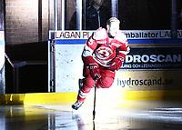 2018-11-14 | Ljungby, Sweden: Troja-Ljungby (25) Mattias Åkesson during the game between Troja Ljungby and Mörrums GoIS at Ljungby Arena ( Photo by: Fredrik Sten | Swe Press Photo )<br /> <br /> Keywords: Icehockey, Ljungby, HockeyEttan, Troja Ljungby, Mörrums GoIS, Ljungby Arena div1, division, troja, ljungby, mörrum, gois,
