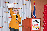 Wyoming Department of Education Superintendent, Jillian Balow, speaks at the National School of Choice Event in Cheyenne, Wyoming on January 19, 2019.