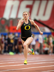 Don Kirby Invitational Indoor Track & Field<br /> Albuquerque, NM, Feb 14, 2020<br /> womens 60m heats Oregon
