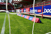 Sky Bet Advertising  before  the EFL Sky Bet League 1 match between Accrington Stanley and Scunthorpe United at the Fraser Eagle Stadium, Accrington, England on 1 September 2018.