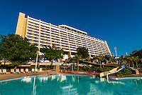 Contemporary Resort, Magic Kingdom, Walt Disney World, Orlando, Florida USA