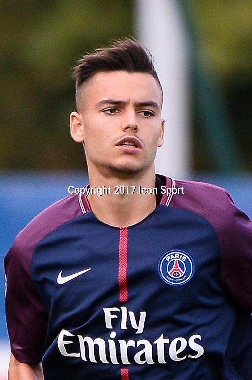Alec Georgen of Paris Saint Germain during the National 2 match between Paris Saint Germain B and Chasselay on September 2nd, 2017 in Paris, France. (Photo by Baptiste Fernandez/Icon Sport)