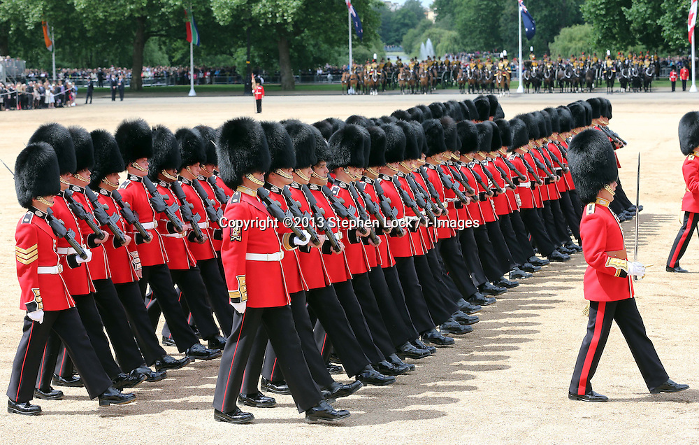 Trooping The Colour in London, Saturday, 15th June 2013 Picture by Stephen Lock / i-Images
