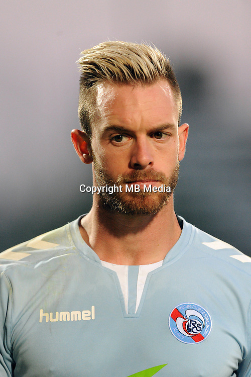 Alexandre OUKIDJA of Strasbourg  during the Ligue 2 match between Clermont Foot and RC Strasbourg Alsace at Stade Gabriel Montpied on September 22, 2016 in Clermont-Ferrand, France. (Photo by Jean Paul Thomas/Icon Sport)