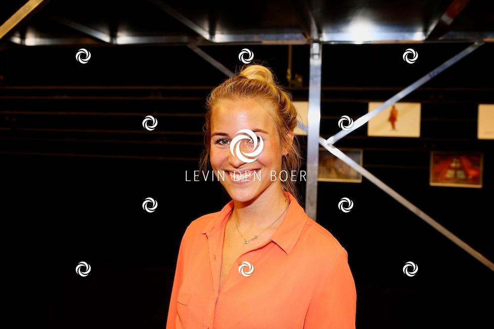 ZAANDAM - In het theater van Zaandam is de perspresentatie gehouden van Albert Verlinde's nieuwe musical 'FlashDance'. Met hier op de foto  Jantien Euwe. FOTO LEVIN DEN BOER - PERSFOTO.NU