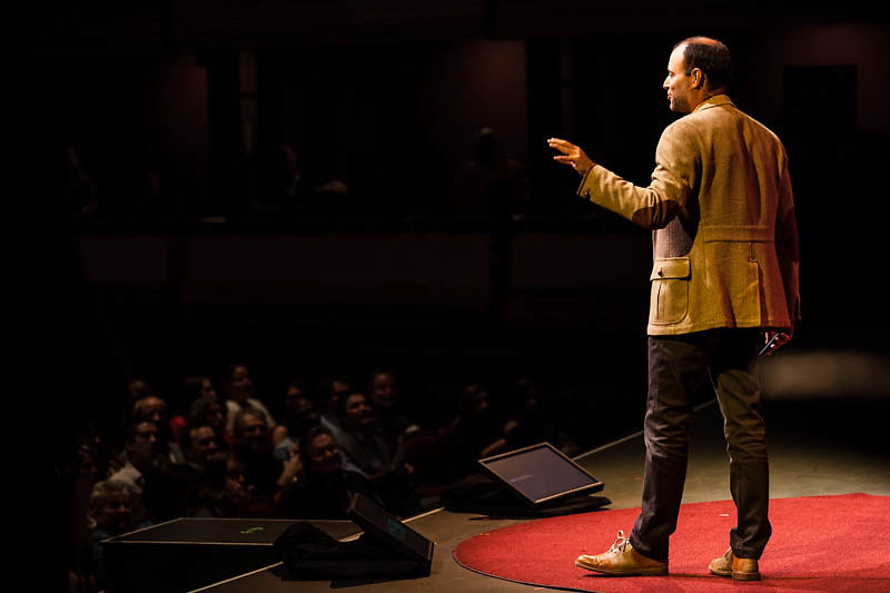 Speaker Noel Biderman of Ashley Madison speaks at TEDxWaterloo 2013