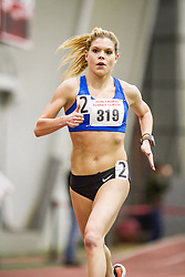 women's 5000, Erica Jesseman, Dirigo, Boston University John Terrier Invitational Indoor Track and Field