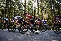 Amalie Dideriksen (DEN) in the woods during Ladies Tour of Norway 2019 - Stage 4, a 154 km road race from Svinesund to Halden, Norway on August 25, 2019. Photo by Sean Robinson/velofocus.com