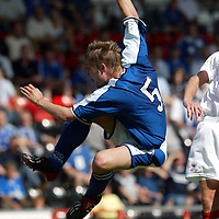 Kevin Rutkiewicz, St Johnstone...07.08.04<br /><br />Picture by Graeme Hart.<br />Copyright Perthshire Picture Agency<br />Tel: 01738 623350  Mobile: 07990 594431