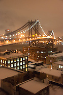 Brooklyn in the snow NYB594A