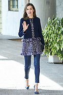 032018 Queen Letizia attends a work meeting and visit to the facilities of the 'Integra Foundation'