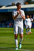 Coventry City defender Dominic Hyam (15) applauds the fans after the EFL Sky Bet League 1 match between Gillingham and Coventry City at the MEMS Priestfield Stadium, Gillingham, England on 25 August 2018.