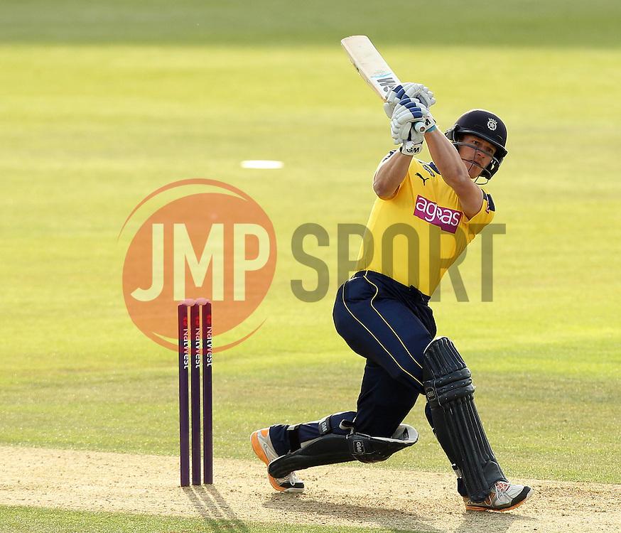Hampshire's James Adams  - Photo mandatory by-line: Robbie Stephenson/JMP - Mobile: 07966 386802 - 19/06/2015 - SPORT - Cricket - Southampton - The Ageas Bowl - Hampshire v Sussex - Natwest T20 Blast