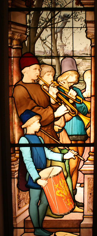 Apartment Window.  La Danse Des Fiancailles (The Engagement Ball).  Executed by Eugene Oudinot (1827-1889) French (Passy), dated 1885.  The donor was the widow of Isaac Bell, a prominent New Yorker, in the second half of the last century.