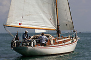 Kitenui in the around Rangitoto race of the Lindauer Classic Yacht Regatta. 18/2/2006