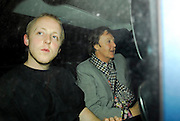03.APRIL.2007. LONDON<br /> <br /> PAUL McCARTNEY AND SON JAMES SEEN OU AND ABOUT IN LONDON TOGETHER AND PAUL HAS GOT SOME FUNKY LINING INSIDE HIS SUIT JACKET.<br /> <br /> BYLINE: EDBIMAGEARCHIVE.CO.UK<br /> <br /> *THIS IMAGE IS STRICTLY FOR UK NEWSPAPERS AND MAGAZINES ONLY*<br /> *FOR WORLD WIDE SALES AND WEB USE PLEASE CONTACT EDBIMAGEARCHIVE - 0208 954 5968*