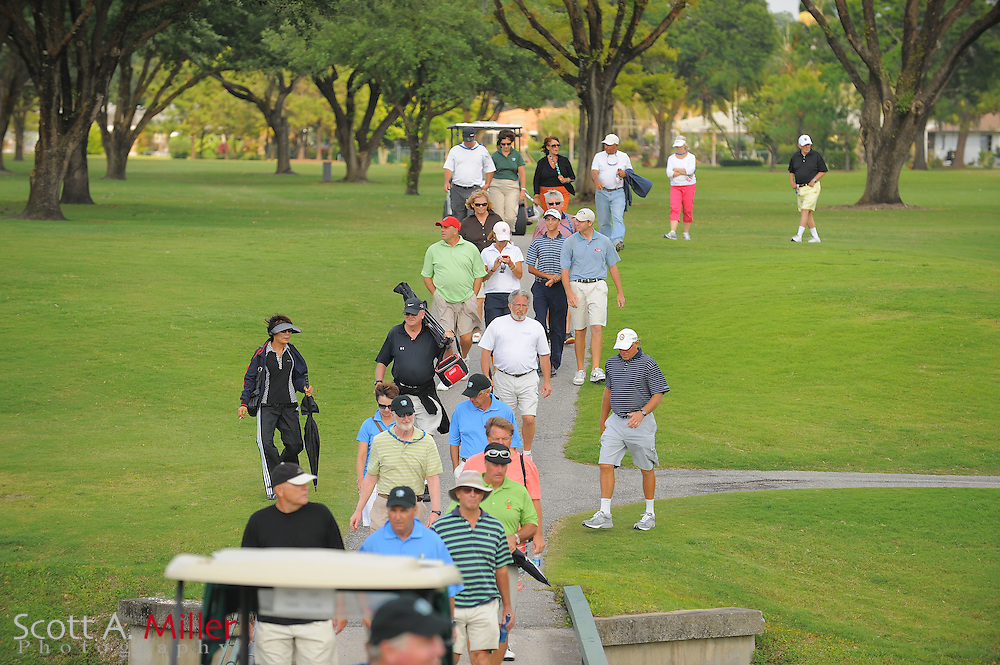 The gallery during the Symetra Tour's Sara Bay Classic at the Sara Bay Country Club on April 22, 2012 in Sarasota, Fla. ..©2012 Scott A. Miller.