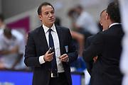 Tolga Sahin arbitro<br /> Dolomiti Energia Aquila Basket Trento - Umana Reyer Venezia<br /> Lega Basket Serie A 2016/2017<br /> Playoff, finale gara 3<br /> Trento, 14/06/2017<br /> Foto M.Ceretti / Ciamillo-Castoria