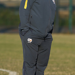 DURBAN, SOUTH AFRICA - Wednesday 10th June 2015Shakes Mashaba during The Bafana Bafana training session at  Moses Mabhida Stadium on Wednesday 10th June 2015 in Durban, South Africa<br /> Photo by Steve Haag