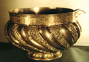 Silver vessel. Russian 17th century.  Metal