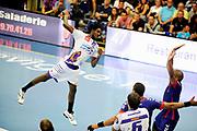 DESCRIZIONE : Handball Tournoi de Cesson Homme<br /> GIOCATORE : PINTOR Guynel<br /> SQUADRA : Selestat<br /> EVENTO : Tournoi de cesson<br /> GARA : Paris Handball Selestat<br /> DATA : 06 09 2012<br /> CATEGORIA : Handball Homme<br /> SPORT : Handball<br /> AUTORE : JF Molliere <br /> Galleria : France Hand 2012-2013 Action<br /> Fotonotizia : Tournoi de Cesson Homme<br /> Predefinita :
