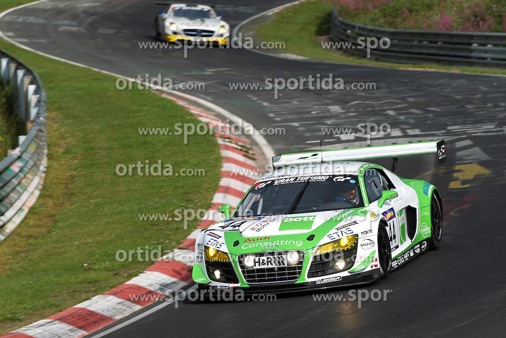 Motorsports: VLN Langstreckenmeisterschaft Nuerburgring 2012, 6h ADAC Ruhr-Pokal-Rennen, Frank Biela, Christian Hohenadel, Thomas Mutsch (Audi R8 LMS) *** Local Caption *** © pixathlon