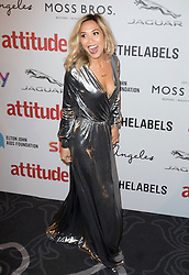 Myleene Klass attends the 2016 Attitude Awards in association with Virgin Holidays, at 8 Northumberland Avenue, London. Monday October 10, 2016. Photo credit should read: Isabel Infantes / EMPICS Entertainment.