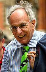 © Licensed to London News Pictures. 24/06/2016. London, UK. Grassroots Out campaigner Peter Bone in Westminster, London on the day that the UK voted to leave the EU in a referendum. Photo credit: Ben Cawthra/LNP