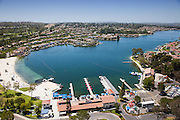 Lake Mission Viejo Aerial Stock Photo