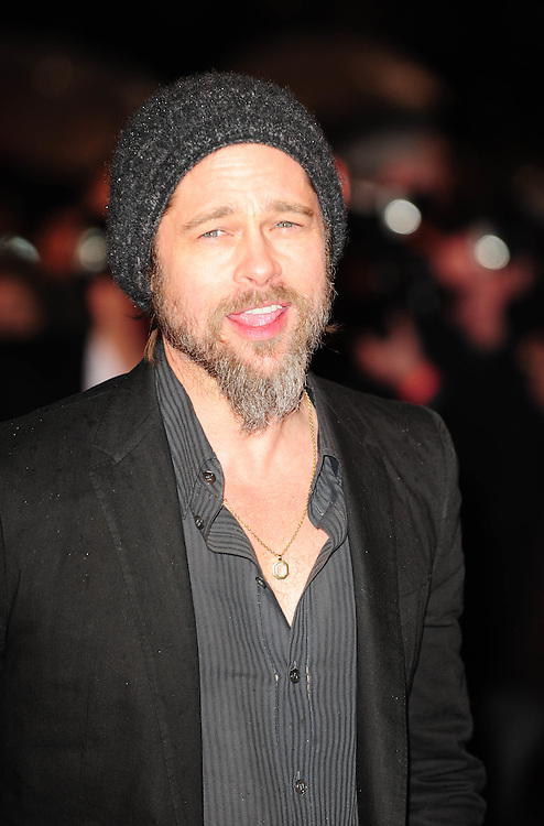 "Brad Pitt at ""Kick Ass"" premiere at The Empire cinema in Leicester Square in London.."