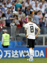 Toni Kroos of Germany during the 2018 FIFA World Cup Russia group F match between Germany and Mexico at the Luzhniki Stadium on June 17, 2018 in Moscow, Russia