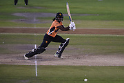 aStafanie Taylor of Southern Vipers batting during the Women's Cricket Super League match between Southern Vipers and Lancashire Thunder at the 1st Central County Ground, Hove, United Kingdom on 15 August 2019. during the Women's Cricket Super League match between Southern Vipers and Lancashire Thunder at the 1st Central County Ground, Hove, United Kingdom on 15 August 2019.