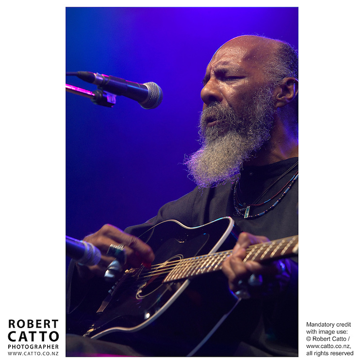 American Richie Havens performs at WOMAD Taranaki, New Plymouth New Zealand.