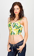 01:01:2012.Studio fashion shoot - florals for spring.model - Katherine Brown.styled by janis Sue Smith...Pic:Andy Barr.07974 923919  (mobile).andy_snap@mac.com.All pictures copyright Andrew Barr Photography. .Please contact before any syndication. .