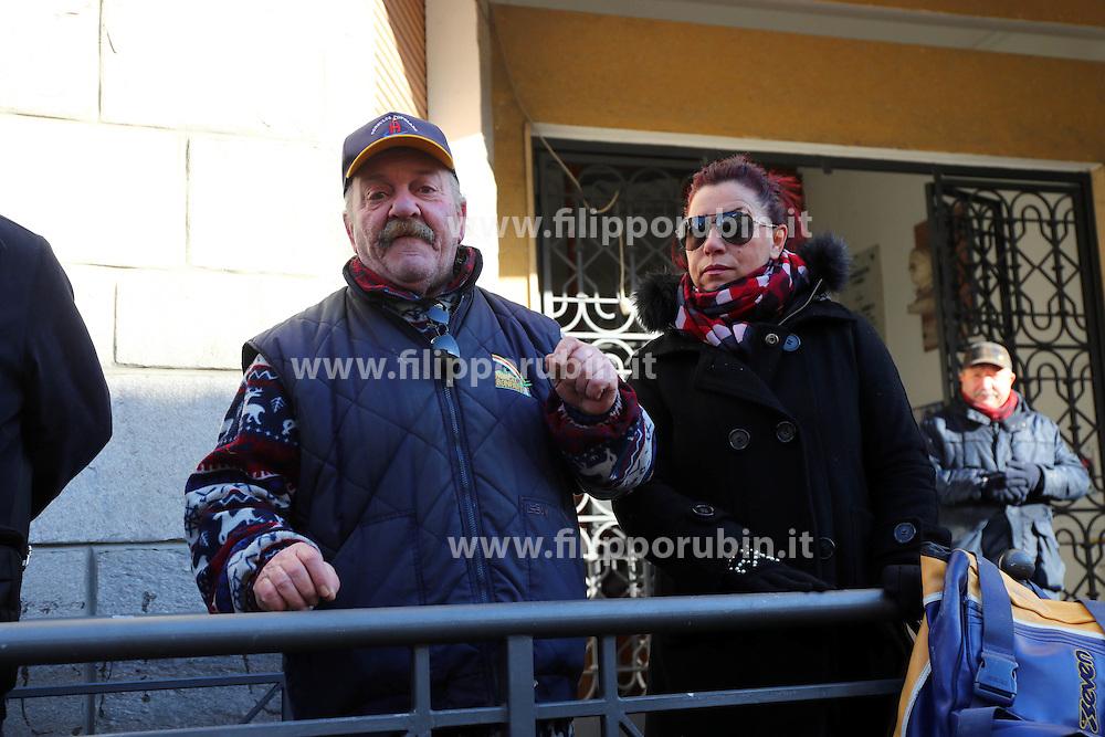 MANRICO MEZZOGORI<br /> PROTESTA CONSULTA OSPEDALE SAN CAMILLO CONTRO ARRIVO PROFUGHI