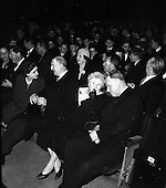 1961 - Opening of the School Drama Festival by President Eamonn de Valera