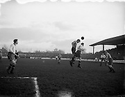 03/01/1954<br /> 01/03/1954<br /> 03 January 1954<br /> Soccer: Waterford F.C. v Drumcondra F.C., League of Ireland, at Tolka Park, Dublin.