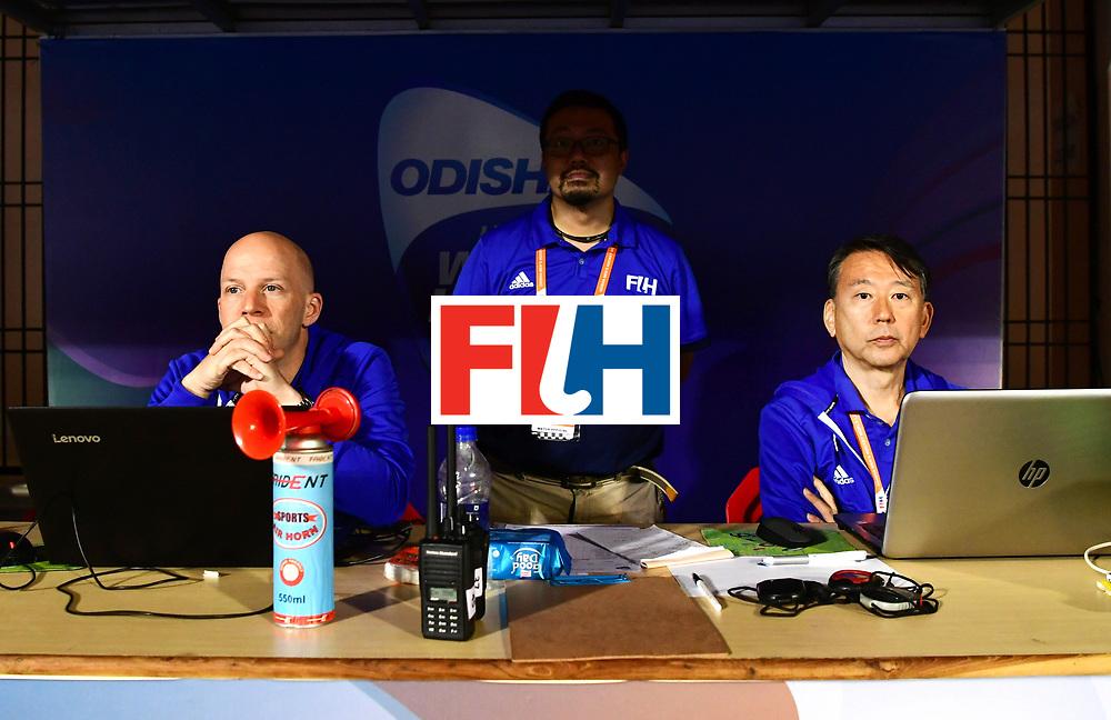 Odisha Men's Hockey World League Final Bhubaneswar 2017<br /> Match id:13<br /> Belgium v India<br /> Foto: FIH Table<br /> COPYRIGHT WORLDSPORTPICS FRANK UIJLENBROEK
