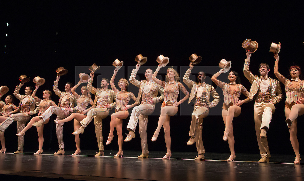© Licensed to London News Pictures. 08/02/2013. London, England. The Musical A CHORUS LINE opens at the London Palladium starring John Partridge and Scarlett Strallen. Photo credit: Bettina Strenske/LNP