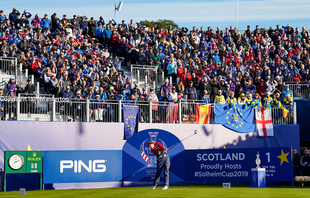 Solheim Cup 2019 at Centenary Course at Gleneagles in Scotland, UK