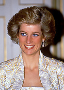 Princess Diana's Visit To Paris 1988-1994